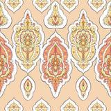 Beautiful indian pattern Stock Photography