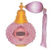 Beautiful vintage perfume bottle Stock Photography