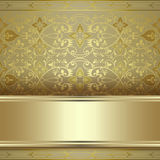 Beautiful vintage seamless pattern background Stock Image