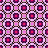 Beautiful violet pattern with flowers Royalty Free Stock Photography