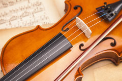 Beautiful violin! Royalty Free Stock Images
