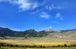 Beautiful Vista of Montana Stock Photography