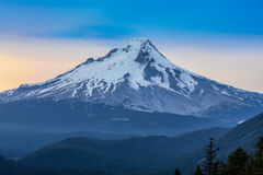 Beautiful Vista of Mount Hood in Oregon, USA Royalty Free Stock Images