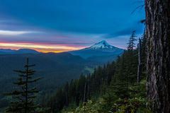 Beautiful Vista of Mount Hood in Oregon, USA Royalty Free Stock Photo