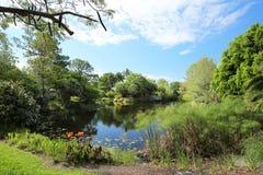 Beautiful vista of Mounts Botanical Gardens in Palm Beach, Florida, USA Stock Photos