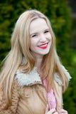 Beautiful vivacious young teenage girl Royalty Free Stock Photos