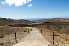 Beautiful volcanic mountains on  Fuerteventura. Stock Photography