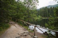 Vrbicke lake in Tatra mountains. Slovakia. Beautiful Vrbicke lake in Tatra mountains. Slovakia Royalty Free Stock Photography
