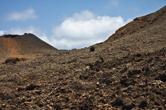 Beautiful vulcan landscape Royalty Free Stock Photography