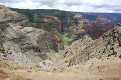 Beautiful Waimea Canyon, Hawaiin islands Royalty Free Stock Image