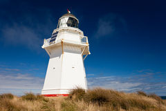 Beautiful Waipapa Point Lighthouse The Catlins NZ Stock Photo