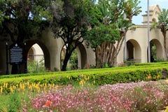 Beautiful walk through the gardens of Balboa Park, California, 2016 Royalty Free Stock Image
