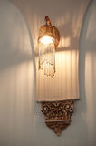 Beautiful wall decorative chandelier in the interior Stock Image