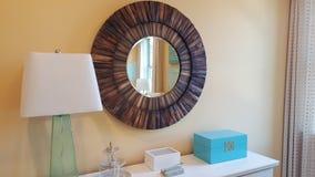 A beautiful wall mirror Royalty Free Stock Photo
