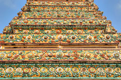 Beautiful wall of pagoda Stock Photography