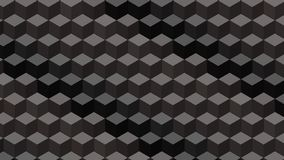 Beautiful wallpaper banner with, Abstract design, geometric Patterns, Cubes, Black Texture. An Illustration Beautiful wallpaper banner with, Abstract design stock illustration