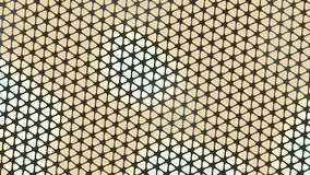 Beautiful wallpaper banner with, Abstract design, geometric Patterns, Triangles, Net, flower, floral Yellow shades Texture. An Illustration Beautiful wallpaper vector illustration