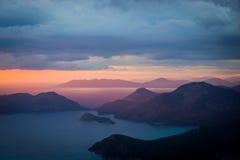 Beautiful Wallpaper For Your Desktop, Landscape Sunset Coast Of Stock Photo