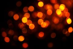 Beautiful, warm lights Royalty Free Stock Photos