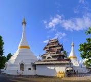 Wat Phrathat Doi Kongmu Temple. Beautiful Wat Phrathat Doi Kongmu Buddhist temple in Mae Hong Son, Thailand Royalty Free Stock Photography