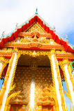 Beautiful Wat Thai,Thai temple architecture Stock Photography