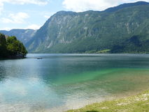 Beautiful Water at Bohinj Royalty Free Stock Photography