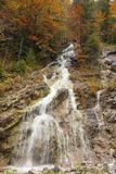 Beautiful water cascade Royalty Free Stock Photos
