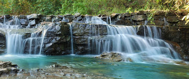 Beautiful water fall in thailand Stock Photo