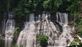Beautiful water falls Royalty Free Stock Image