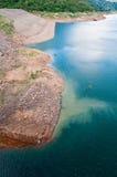 Beautiful water at Khundanprakarnchon dam Royalty Free Stock Images