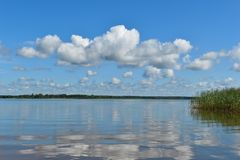 Beautiful water landscape royalty free stock photos