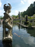 Beautiful Water Palace Tirtha Gangga in Bali. Island Indonesia royalty free stock images