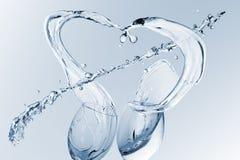 Beautiful  water splash freeze Royalty Free Stock Image