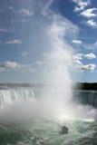 Beautiful water splash at niagara falls Stock Photography