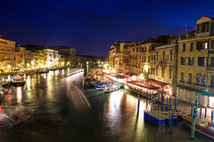 Beautiful water street Stock Images