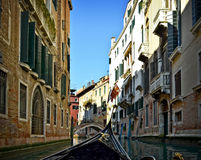 Beautiful water street - Venice, Italy Stock Photography