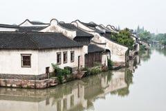 Beautiful water town Stock Photos