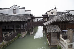 Beautiful water town in China Stock Photography