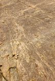 Beautiful water way rock texture natural background. Rural of india, asia Stock Photos