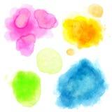 Beautiful Watercolor background Stock Photos