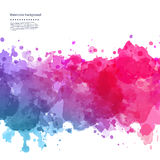 Beautiful Watercolor background Stock Photo