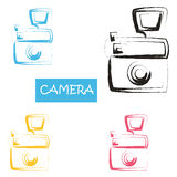 Beautiful watercolor design elements Royalty Free Stock Photo