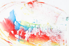 Beautiful watercolor paint line Stock Photos