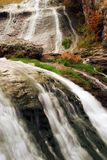 Beautiful waterfall. Beautiful nature scene with waterfall royalty free stock image