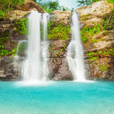 Beautiful waterfall Royalty Free Stock Photo