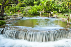 Beautiful waterfall. Royalty Free Stock Image