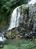 A beautiful waterfall  of Australian coast Royalty Free Stock Images