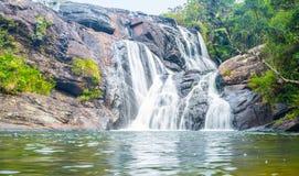 The beautiful waterfall Stock Image