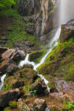 Beautiful waterfall in Balkan Mountains, Bulgaria Royalty Free Stock Photos
