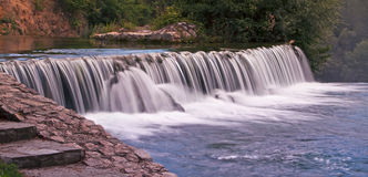Beautiful waterfall banner Stock Photo